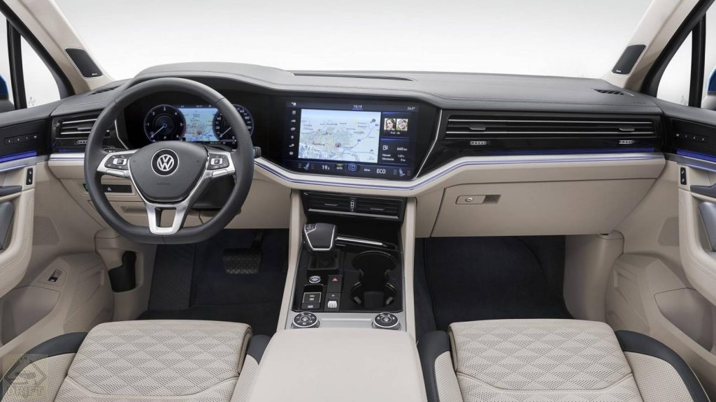 nuova volkswagen touareg 3 1024x576 - Volkswagen официально представил Touareg нового поколения