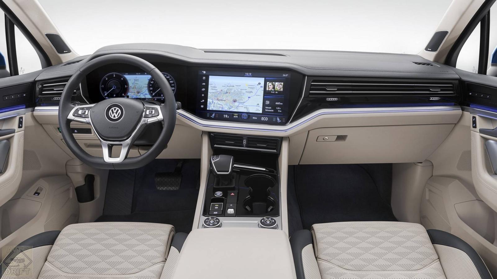 nuova volkswagen touareg 3 - Volkswagen официально представил Touareg нового поколения