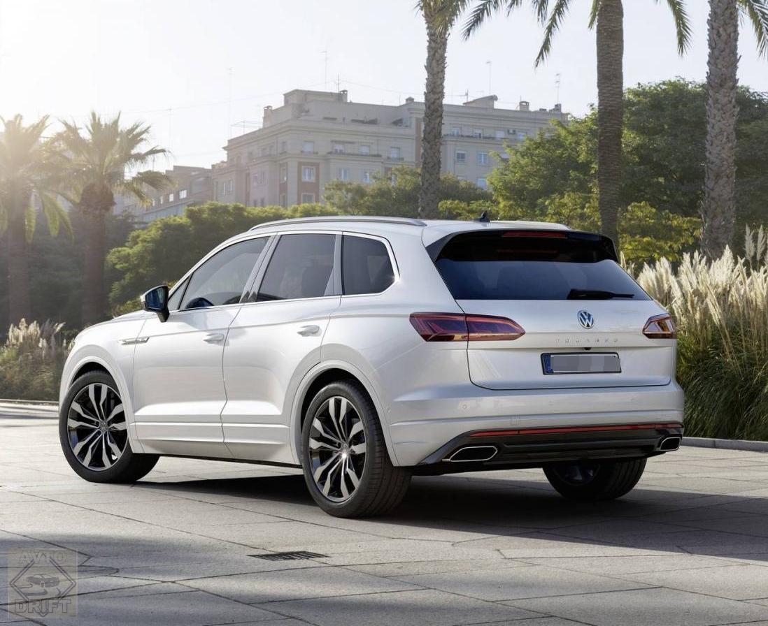 nuova volkswagen touareg 4 - Volkswagen официально представил Touareg нового поколения
