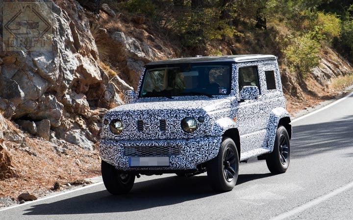 suzuki jimny 2019 5 - Suzuki Jimny нового поколения после премьеры приедет в Россию