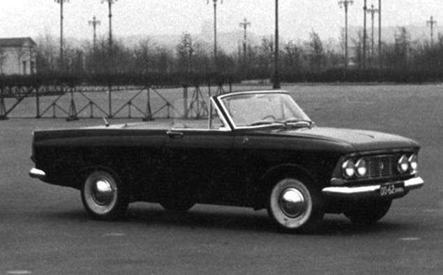 02 - Немного истории: Малоизвестный советский купе/кабриолет «Москвич 408 турист»