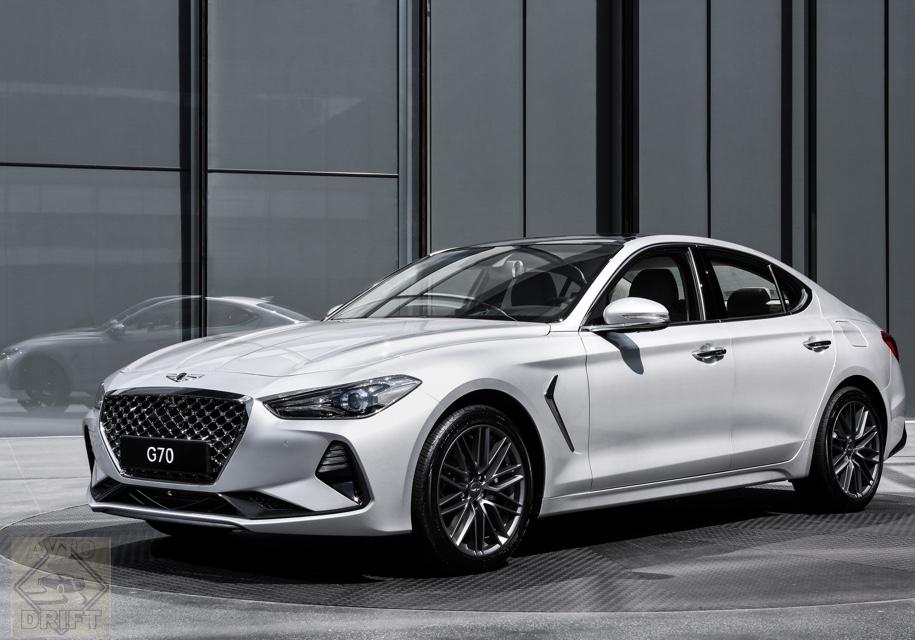 0e8b0fc5264021f54913e317600a976fcaae7363 - Hyundai определился с рублёвой стоимостью премиального седана Genesis G70