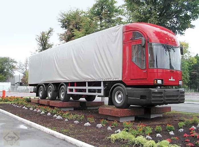 102838441 avtofanmaz3 - Немного истории: первый советский модульный магистральный грузовик МАЗ-2000 «Перестройка»