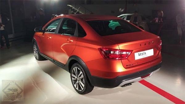 170418 12 - АвтоВАЗ представил в Москве внедорожную версию Lada Vesta