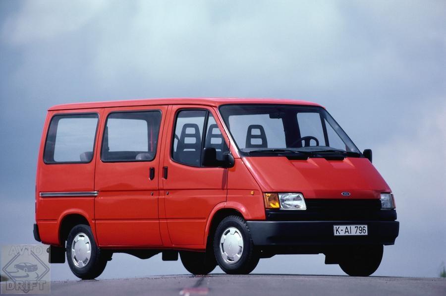 1986 Ford Transit 001 - Китайская JMC пошла по пути ГАЗ и выпустила свою версию Ford Transit образца 1986 года