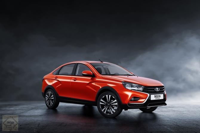 20472 - АвтоВАЗ представил в Москве внедорожную версию Lada Vesta