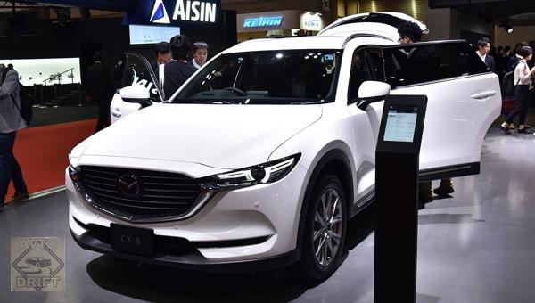 271217 30 - Новый Mazda CX-8 едет на автосалон в Пекине