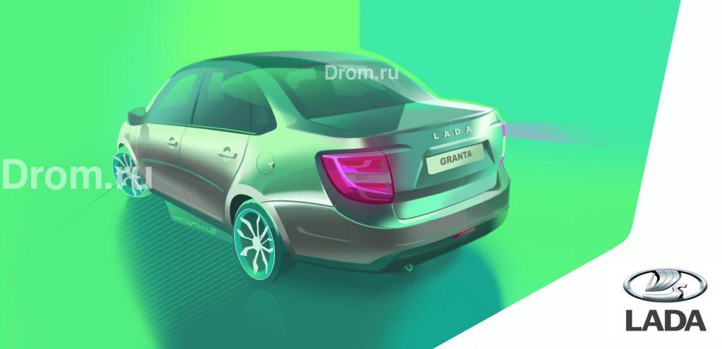 2808075 1024x495 - В интернет «слили» фото нового седана Lada Granta