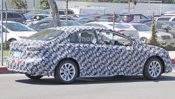 300418 31 1 - Седана Toyota Corolla 2020 на завершающем этапе разработки
