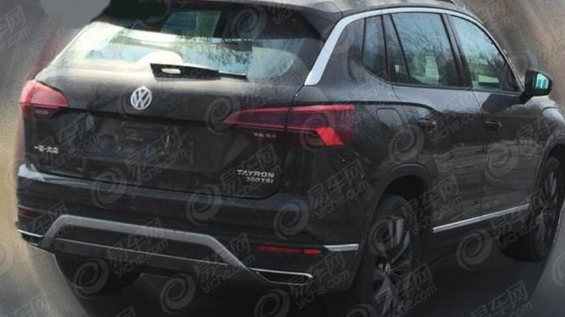 455 - Серийный кроссовер Volkswagen Tayron 2019 попался фотошпионам