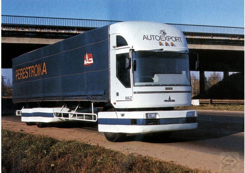 466bd Perestroika 02 1280x906 1024x725 - Немного истории: первый советский модульный магистральный грузовик МАЗ-2000 «Перестройка»