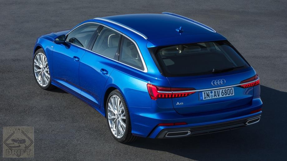 5acdbdf8ec05c48c59000037 - Audi представила универсал A6 Avant