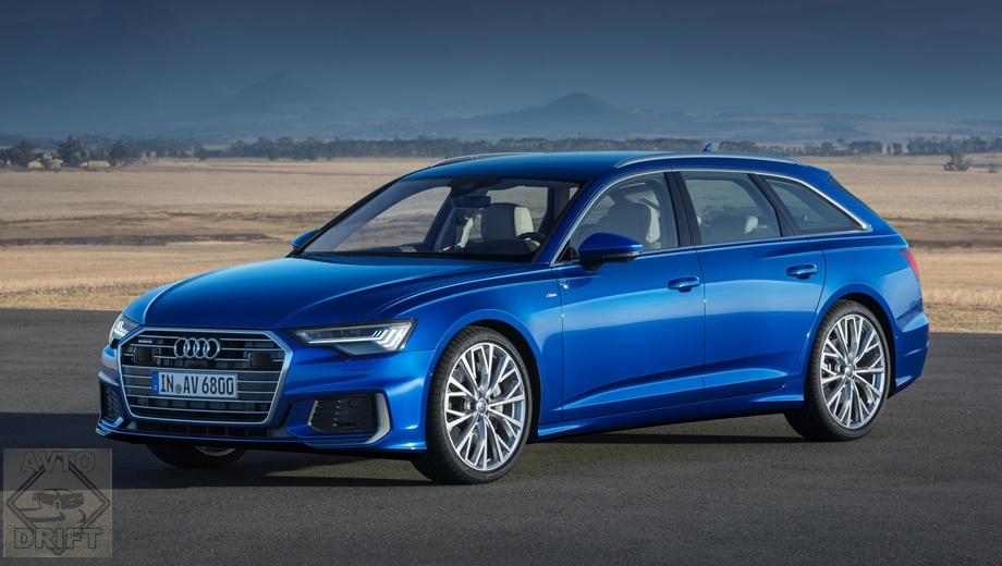 5acdbe27ec05c46803000057 - Audi представила универсал A6 Avant