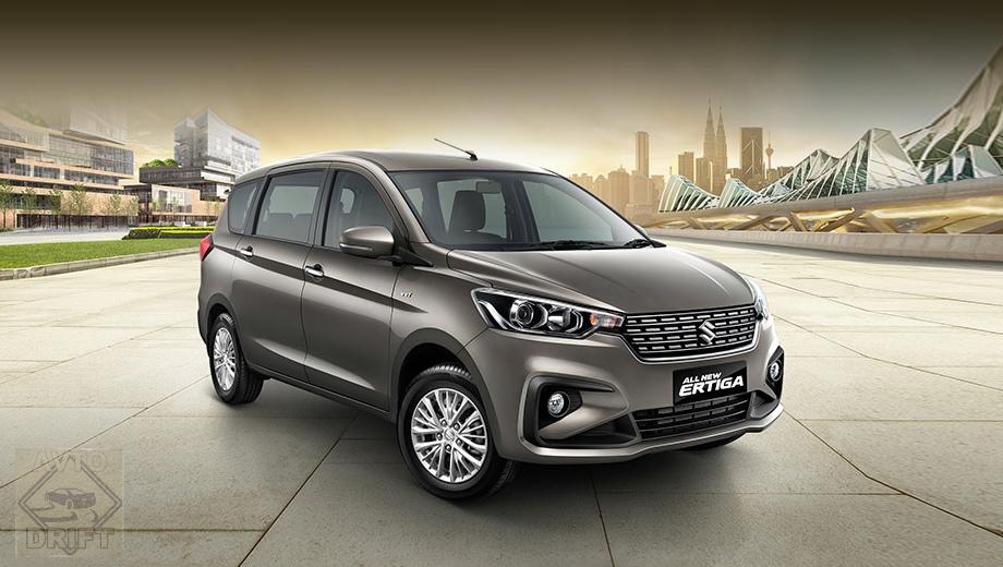 5ad83392ec05c4466c00003d - Новый компактвэн Suzuki Ertiga рассекретили перед премьерой