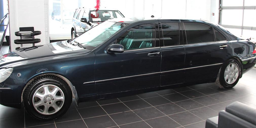 755240487353433 - Бронированный лимузин Путина выставлен на продажу