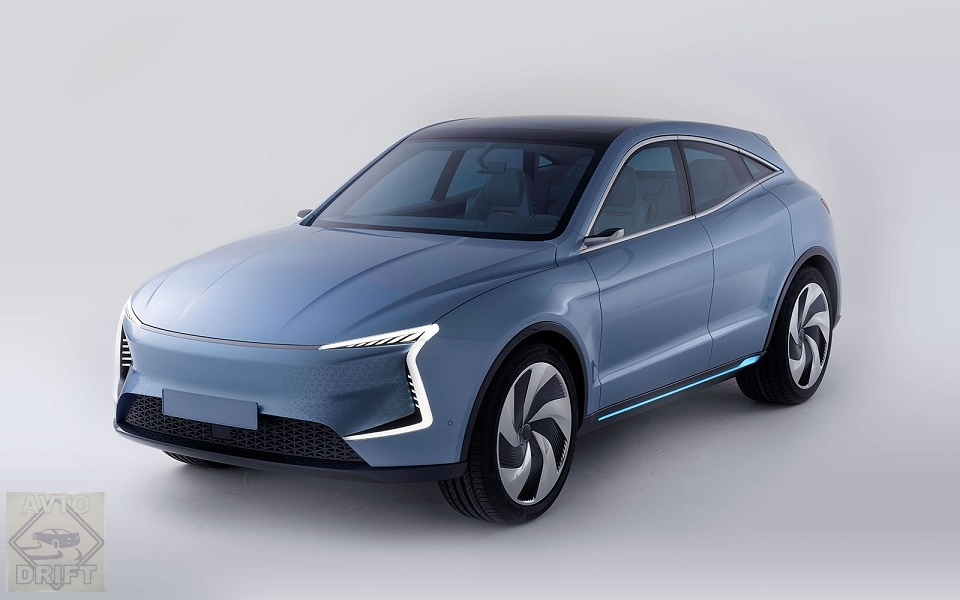 SF5 Front Angle - SF Motors представил два гипермощных электрических кроссовера
