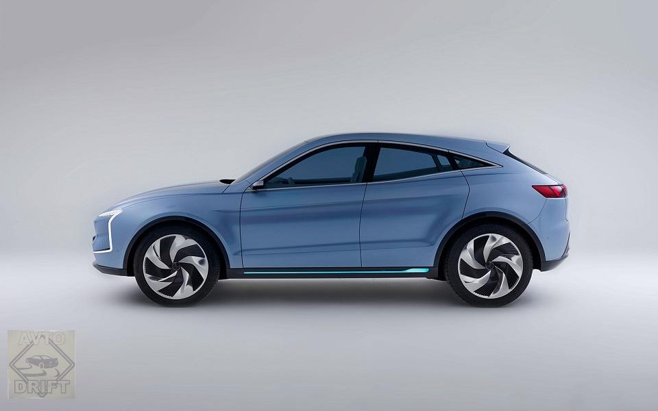SF5 Side - SF Motors представил два гипермощных электрических кроссовера