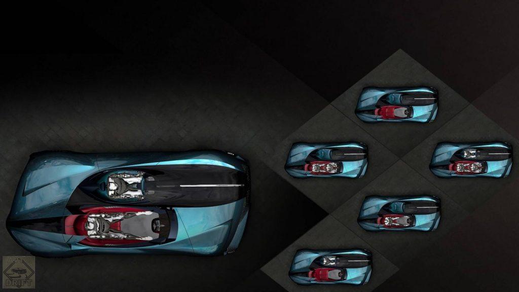 ds x e tense concept 1 1024x576 - Французы видят будущее мирового автопрома в «скоростной асимметрии»!