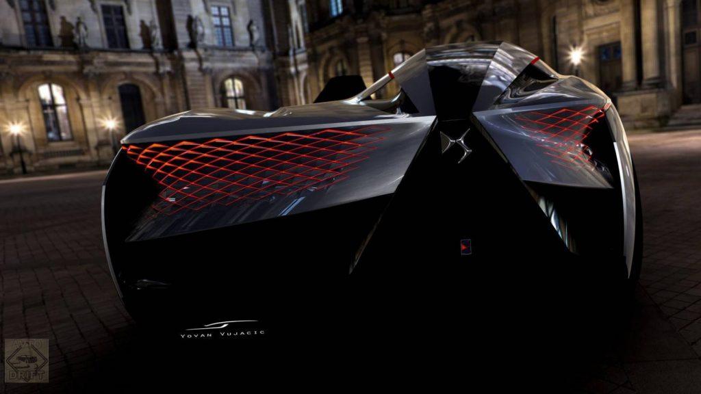 ds x e tense concept 3 1024x576 - Французы видят будущее мирового автопрома в «скоростной асимметрии»!