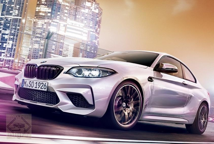 ea36794903766dd555cf0083c8260e42ba3b7e3d - Купе BMW M2 Competition рассекретили перед официальной премьерой