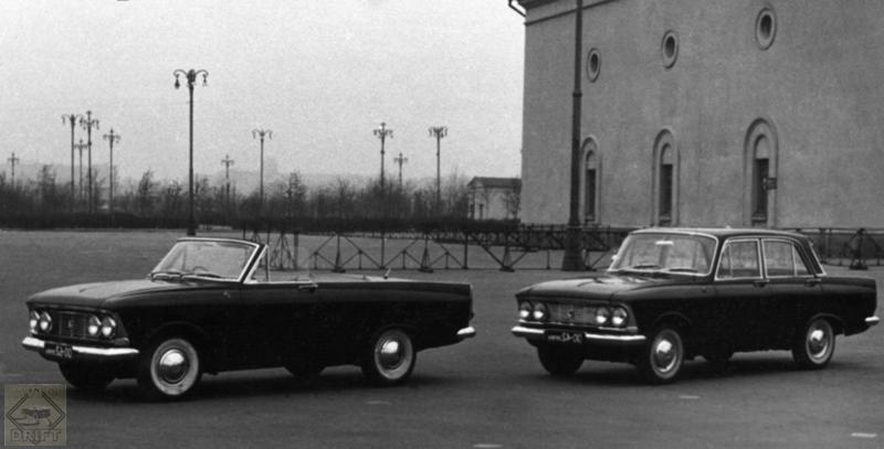 ed74135dc23b4b0957c5a145b4e6b342 - Немного истории: Малоизвестный советский купе/кабриолет «Москвич 408 турист»