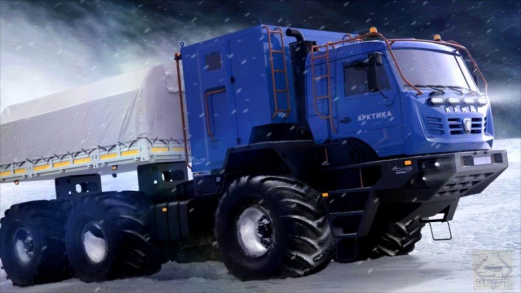 maxresdefault 2 1024x576 - КамАЗ собирается представить вторую арктическую модель