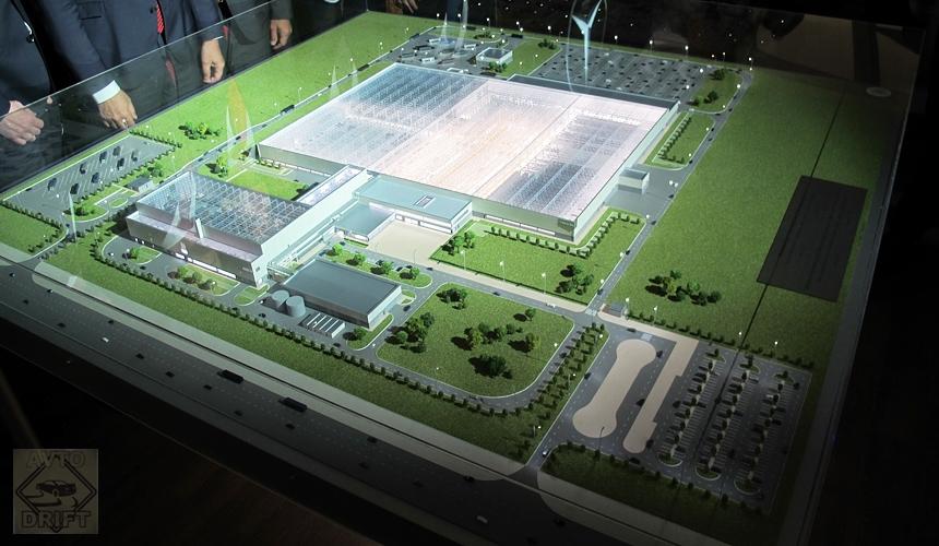 mercedes plant7 - Российский завод Mercedes-Benz уже на стадии отделки