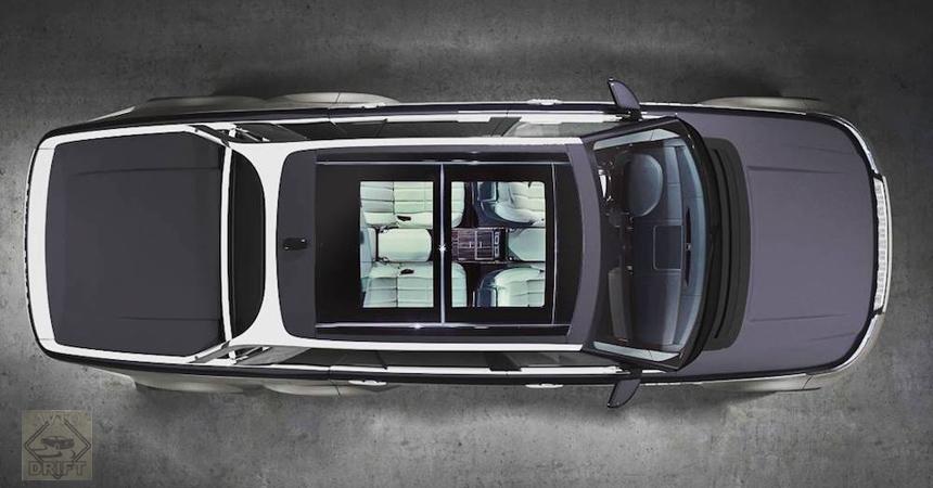 range rover slt3 - Шикарный Range Rover с тремя осями для олигархов