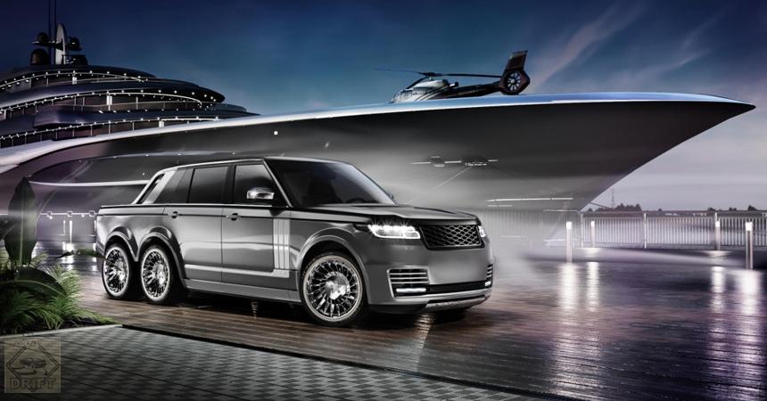 range rover slt4 - Шикарный Range Rover с тремя осями для олигархов