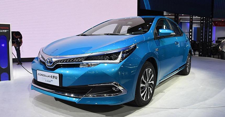 toyota corolla phev2 - Toyota Corolla получила гибридную версию PHEV с возможностью зарядки от розетки