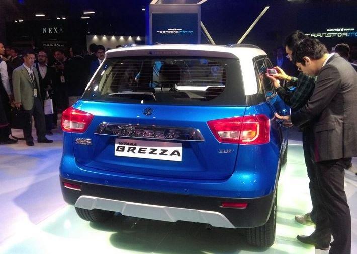 1459411391 snimok - Рестайлинговый кроссовер Maruti-Suzuki Vitara Brezza готовится к дебюту и продажам
