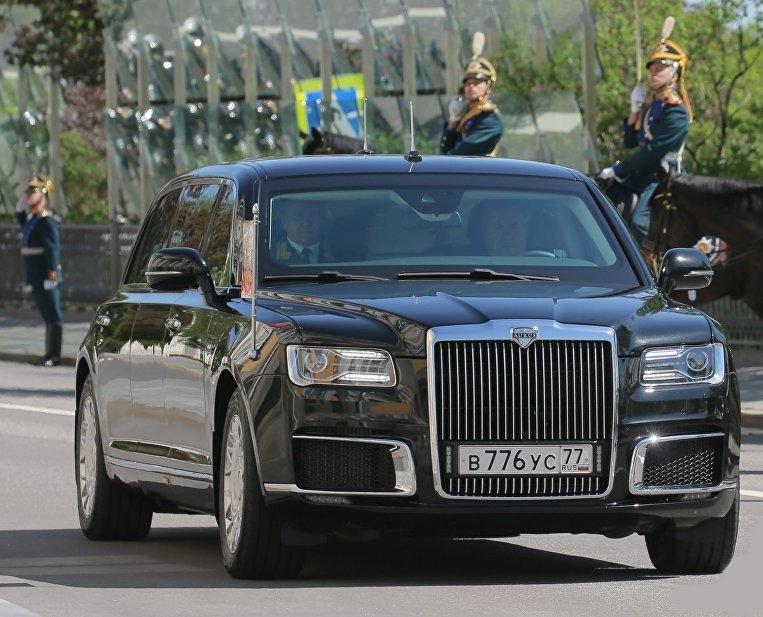1520030212 1 - Состоялся дебют президентского лимузина «Кортеж» во время инаугурации В.В.Путина