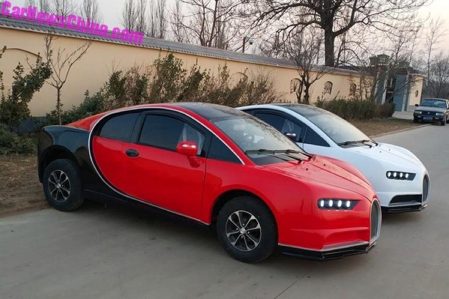 1720 - Bugatti Chiron за 310 тысяч рублей? В Китае всё возможно