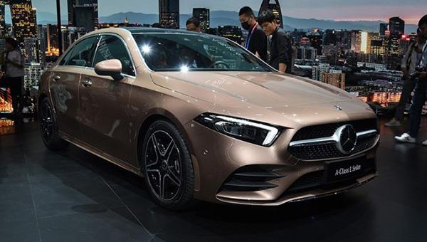 290518 101 - На лето намечен старт продаж «длинного» седана Mercedes-Benz A-Class L