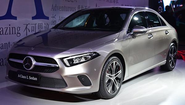 290518 103 - На лето намечен старт продаж «длинного» седана Mercedes-Benz A-Class L