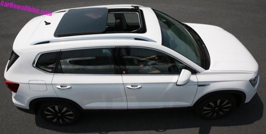 593ceb5a716452c0b116f109473b76ef2fddad42 - Новый «молодежный» кроссовер Volkswagen Tharu зарегистрирован в госреестре Китая