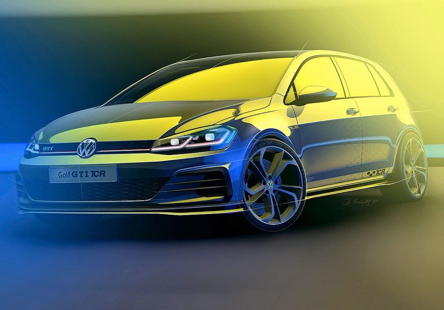 5ef8540bb733c954fbc635e16e89d9a8be2ed003 - 9 мая на фестивале «Wörthersee» состоится дебют топового Volkswagen Golf GTI TCR