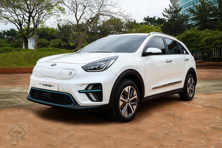 Article 164799 860 575 - Полностью электрический кроссовер Kia Niro EV показали в Корее