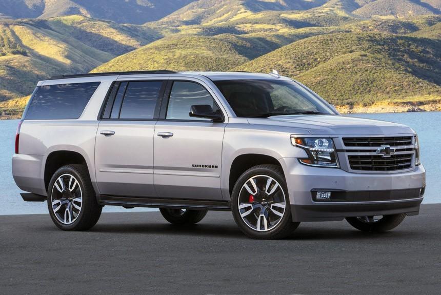 Article 164804 860 575 - Chevrolet представил «заряженную» версию большого внедорожника Suburban RST