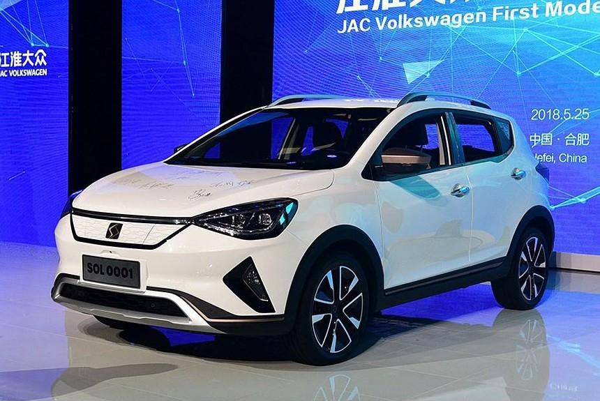Article 164936 860 575 - JAC и Volkswagen начали выпускать новый электрический кроссовер под маркой SOL