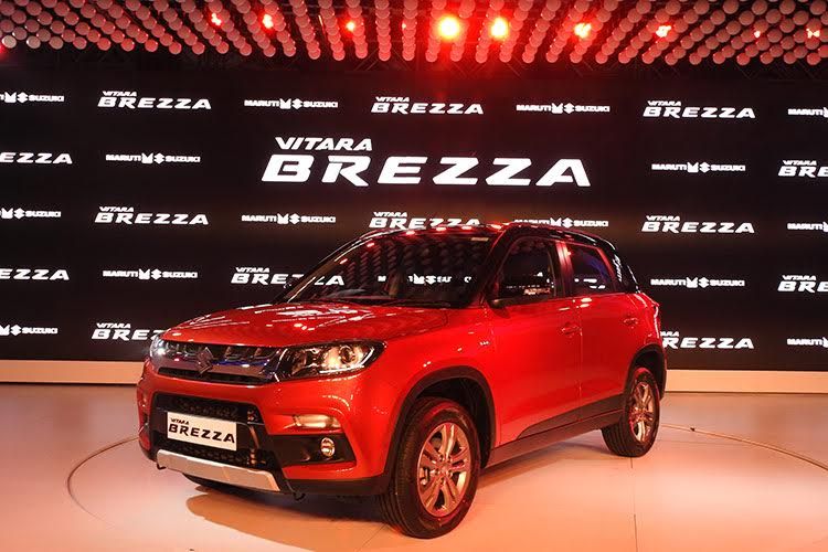 BREEZA - Рестайлинговый кроссовер Maruti-Suzuki Vitara Brezza готовится к дебюту и продажам