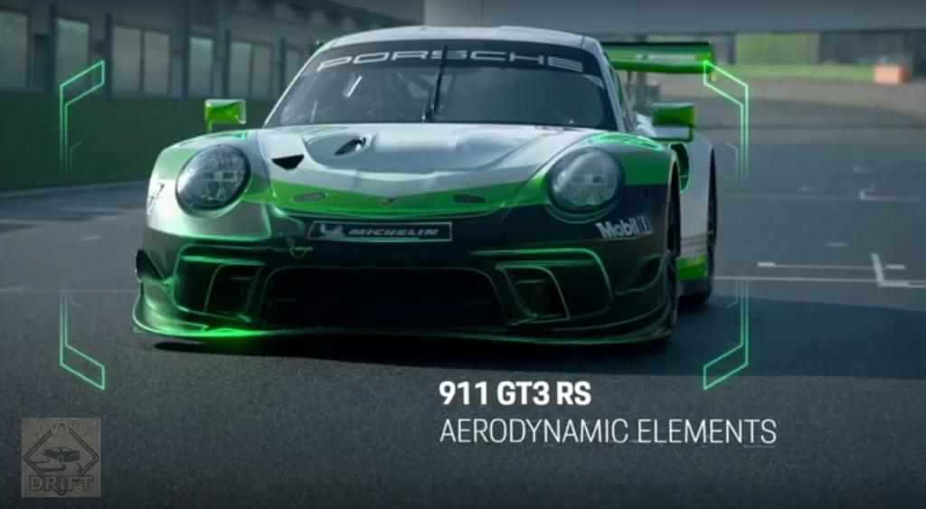 Bezymyannyj1 1024x563 - Обновлённый гоночный Porsche 911 GT3 R стал длиннее, мощнее и комфортней