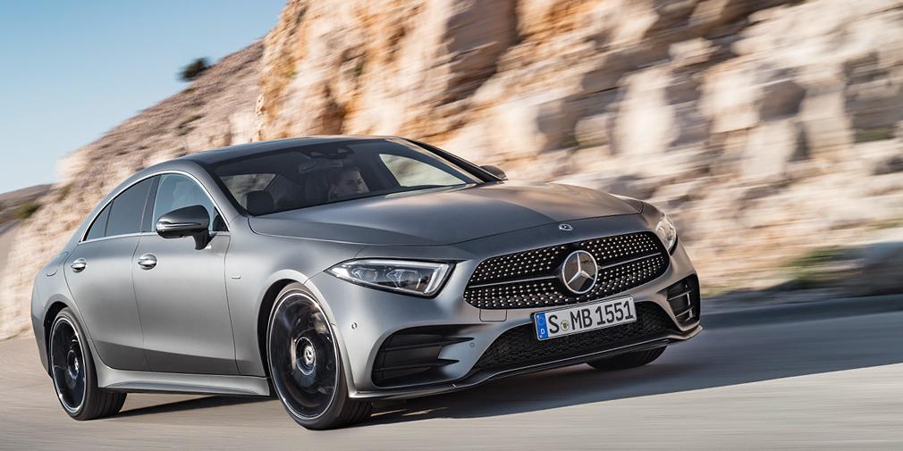 Mercedes Benz CLS. Foto Mercedes - Авторынок России: мировые новинки, которые появятся в мае 2018 года