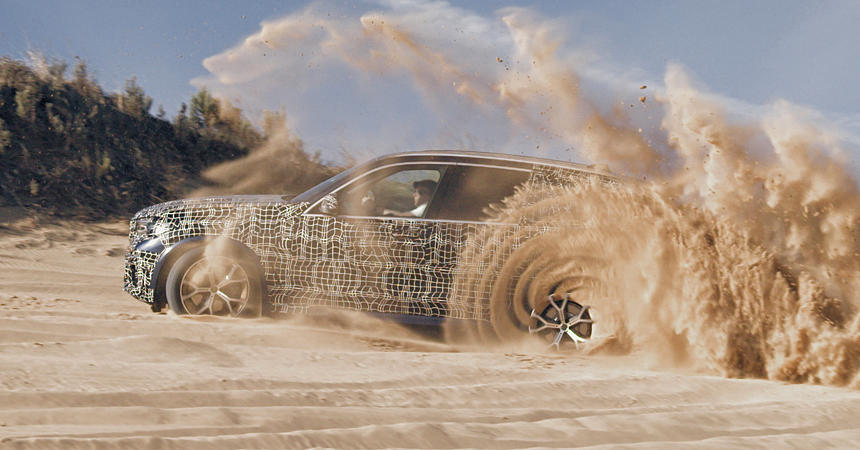 bmw x5 2 - Новый BMW X5 во время тест-драйва