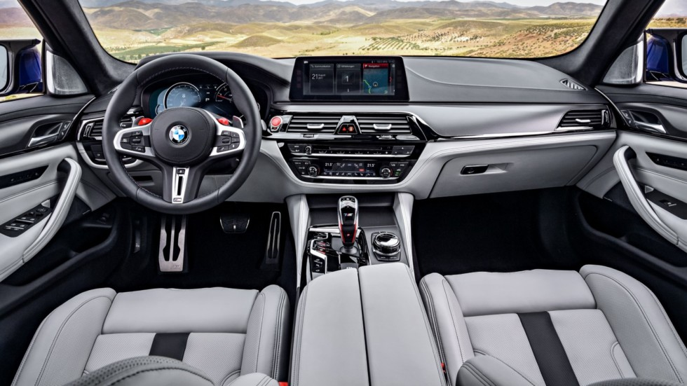bmw m5 595 980x0 c default - Самую «заряженную» версию BMW M5 рассекретили до премьеры