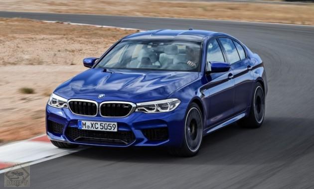 bmw m5 766 630x380 - Самую «заряженную» версию BMW M5 рассекретили до премьеры