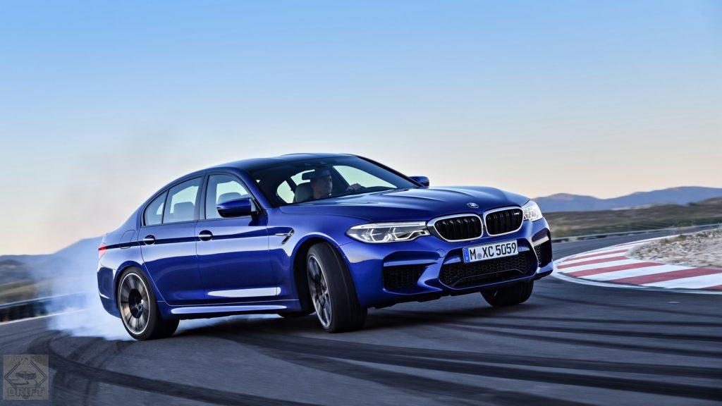 bmw m5 916 1024x576 - Самую «заряженную» версию BMW M5 рассекретили до премьеры