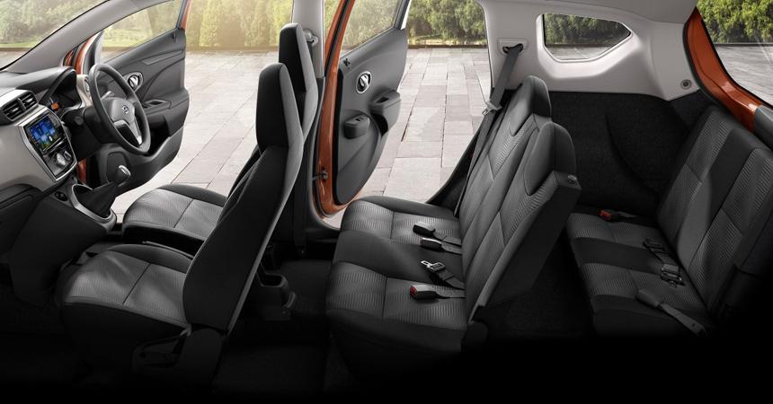 datsun go plus3 - Datsun представил обновлённые «GO» и «GO+»