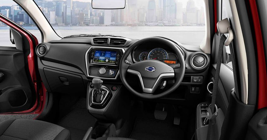 datsun go3 - Datsun представил обновлённые «GO» и «GO+»