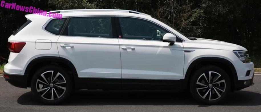 e586681f64a728fcaad1a1fb4a6aac93718c6121 - Новый «молодежный» кроссовер Volkswagen Tharu зарегистрирован в госреестре Китая